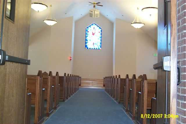 Aisle View toward chancel